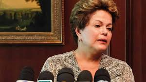 Brazil's President in tears after hearing the news of the tragedy