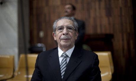 Former General Efrian Rios Montt