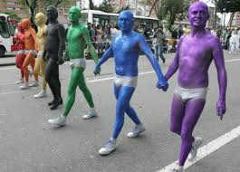 Colombia gay pride march
