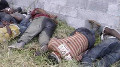 The San Fernando Tamaulipas massacre. Photo: Frontera Norte-Sur